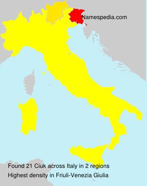 Ciuk - Italy