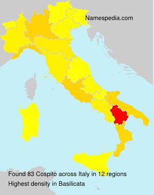 Familiennamen Cospito - Italy