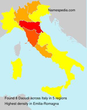 Familiennamen Daoudi - Italy