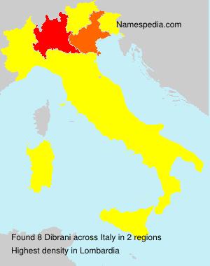 Dibrani - Italy