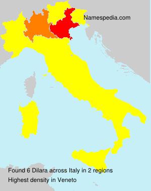 Surname Dilara in Italy