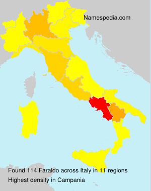 Familiennamen Faraldo - Italy