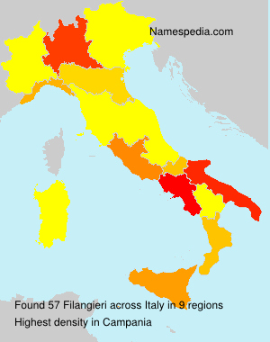 Familiennamen Filangieri - Italy