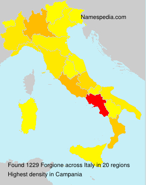 Familiennamen Forgione - Italy