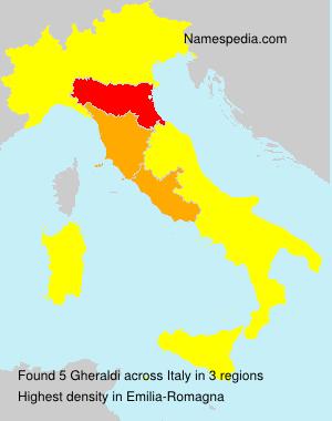 Familiennamen Gheraldi - Italy