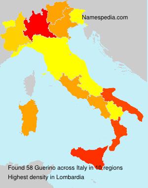 Familiennamen Guerino - Italy
