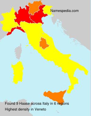 Haase - Italy
