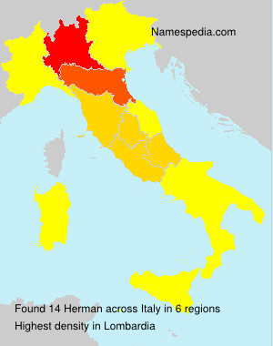Surname Herman in Italy