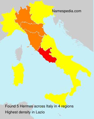 Surname Hermes in Italy