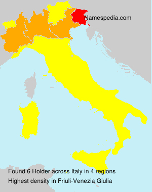 Surname Holder in Italy