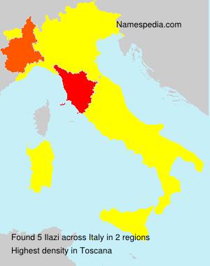 Surname Ilazi in Italy