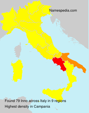 Familiennamen Inno - Italy