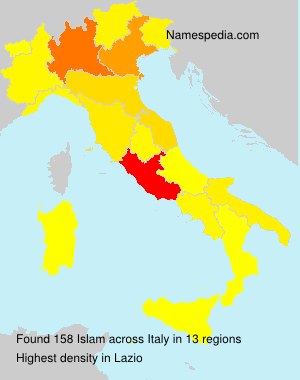 Surname Islam in Italy