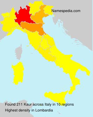 Kaur - Italy