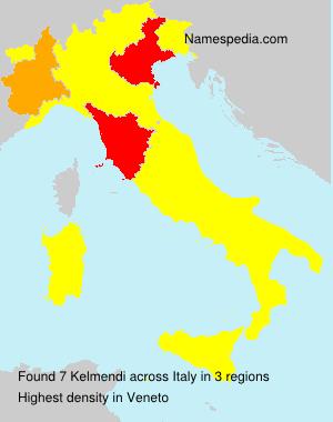 Familiennamen Kelmendi - Italy