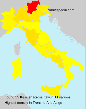 Surname Kessler in Italy