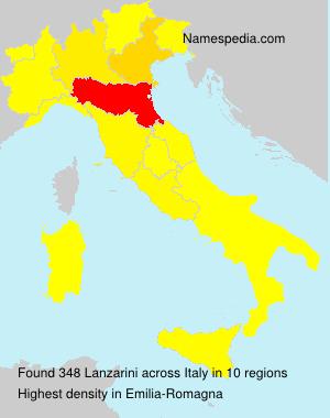 Familiennamen Lanzarini - Italy