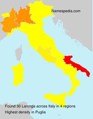 Surname Laronga in Italy