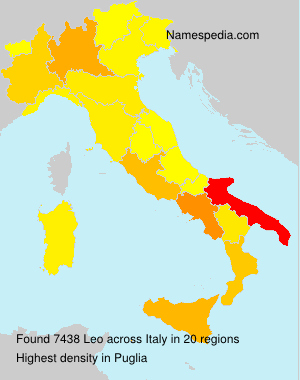 Surname Leo in Italy