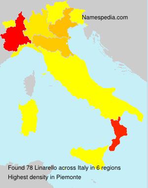 Surname Linarello in Italy