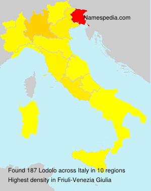 Familiennamen Lodolo - Italy