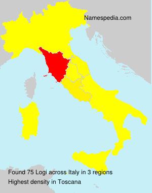 Surname Logi in Italy