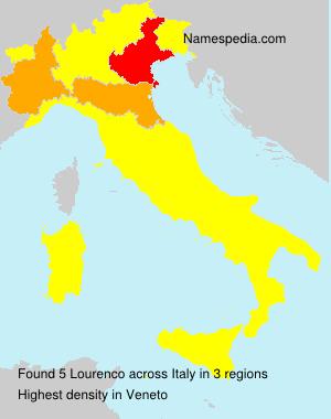 Familiennamen Lourenco - Italy