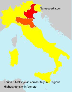 Surname Malivojevic in Italy