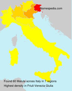 Familiennamen Maluta - Italy