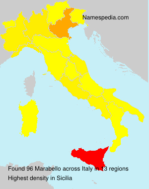 Surname Marabello in Italy