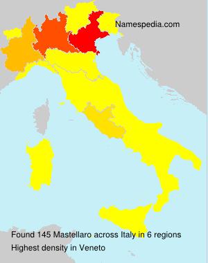 Familiennamen Mastellaro - Italy
