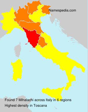 Familiennamen Mihalachi - Italy