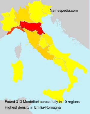 Familiennamen Montefiori - Italy