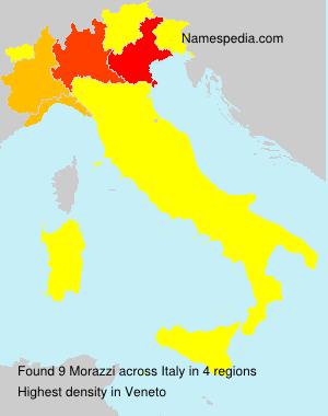Familiennamen Morazzi - Italy
