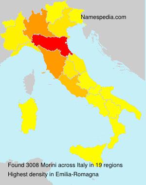 Familiennamen Morini - Italy