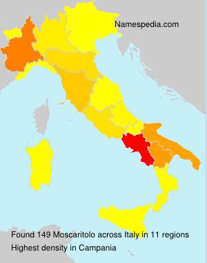 Familiennamen Moscaritolo - Italy