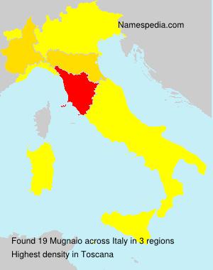Familiennamen Mugnaio - Italy