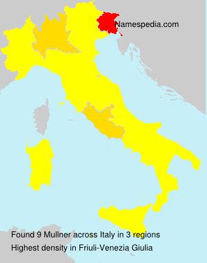 Surname Mullner in Italy