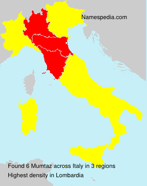 Familiennamen Mumtaz - Italy