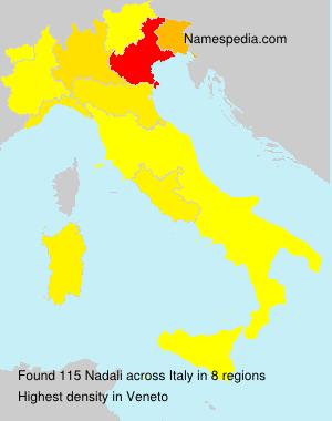 Surname Nadali in Italy