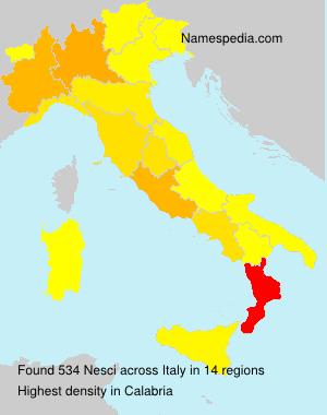 Nesci - Italy