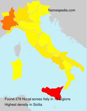 Familiennamen Nizza - Italy