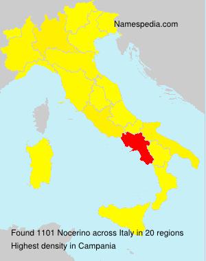 Familiennamen Nocerino - Italy