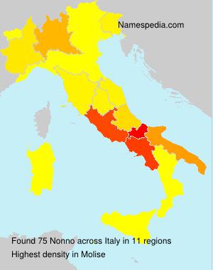 Familiennamen Nonno - Italy