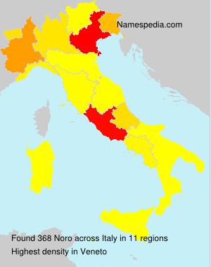 Familiennamen Noro - Italy