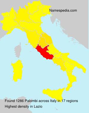 Familiennamen Palombi - Italy