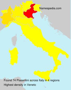 Piasentini - Italy