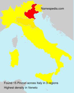 Familiennamen Pinzon - Italy