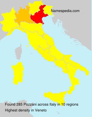 Familiennamen Pozzani - Italy