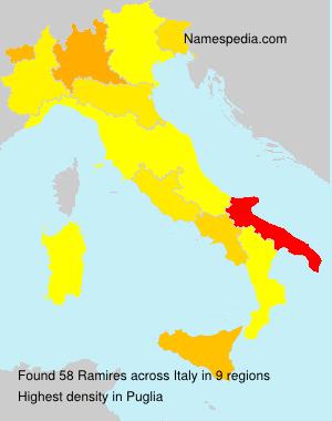Familiennamen Ramires - Italy